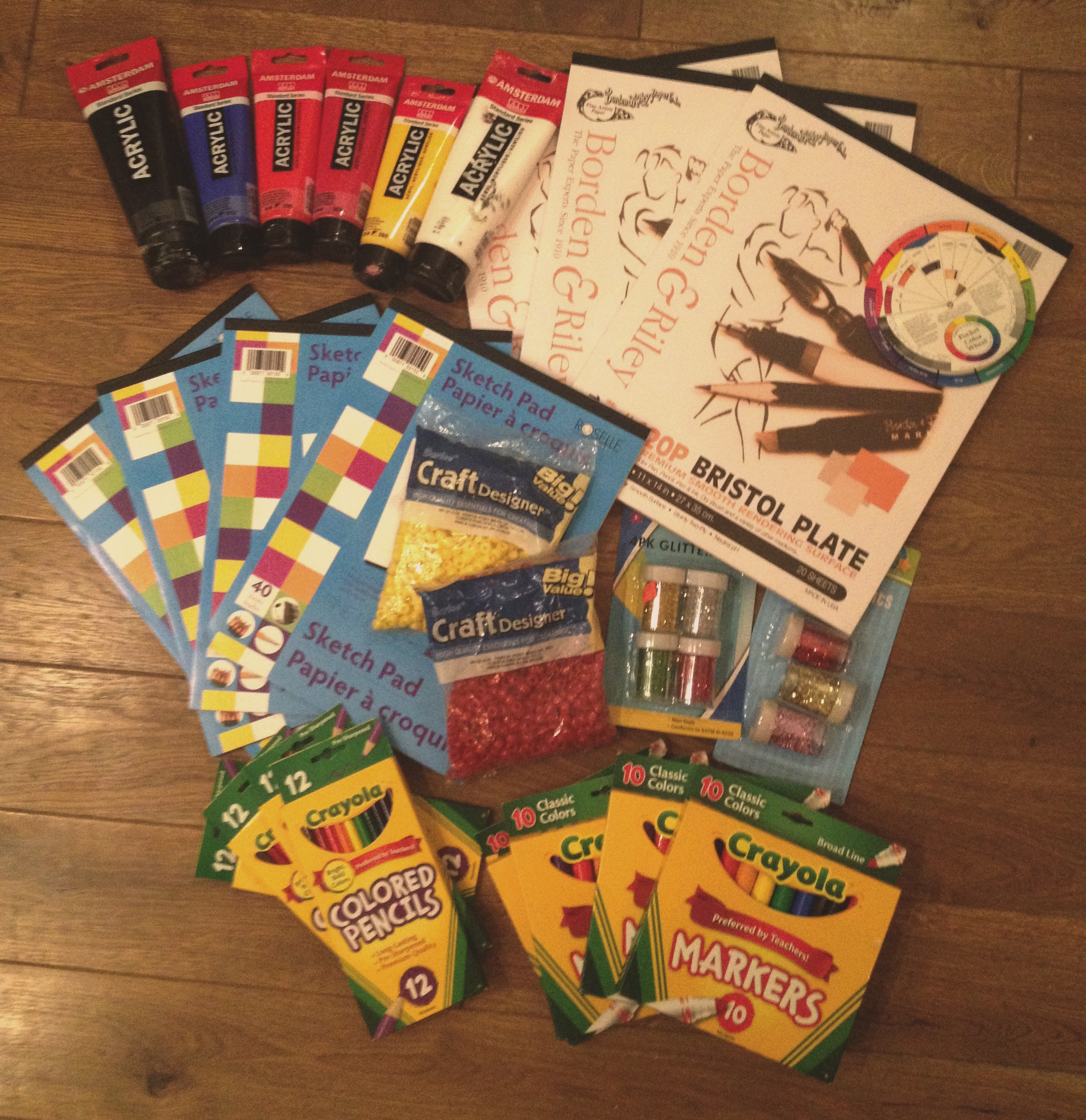 Batey106 project art supply donations rochelle s new york for Where to donate craft supplies